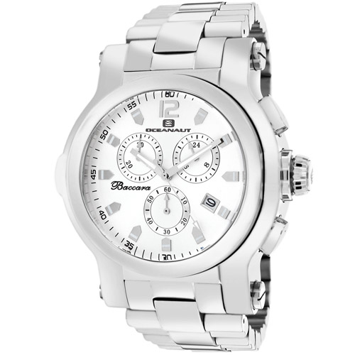 Oceanaut Baccara XL Silver Men's Watch OC0820