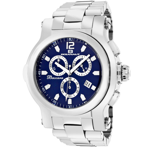 Oceanaut Baccara XL Navy Blue Men's Watch OC0822