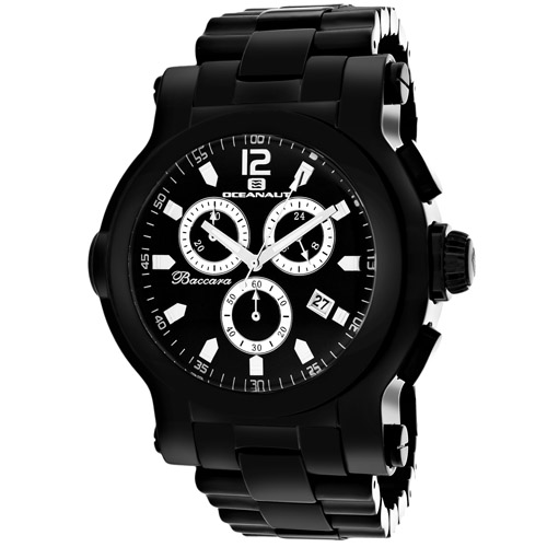 Oceanaut Baccara XL Black Men's Watch OC0828