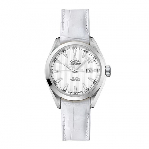 Omega Aqua Terra White Women's Watch O23113342004001