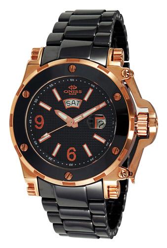 Oniss Paris  On670-Mrg-Bk Men's Watch