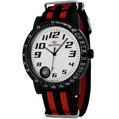Seapro Raceway Sp5110Nr Men's Watch
