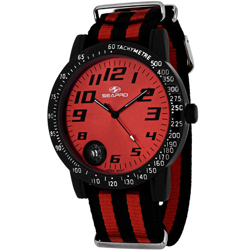 Seapro Raceway Sp5111Nr Men's Watch