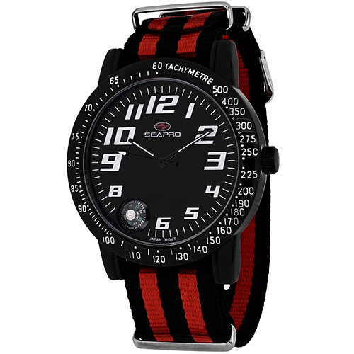 Seapro Raceway Sp5112Nr Men's Watch