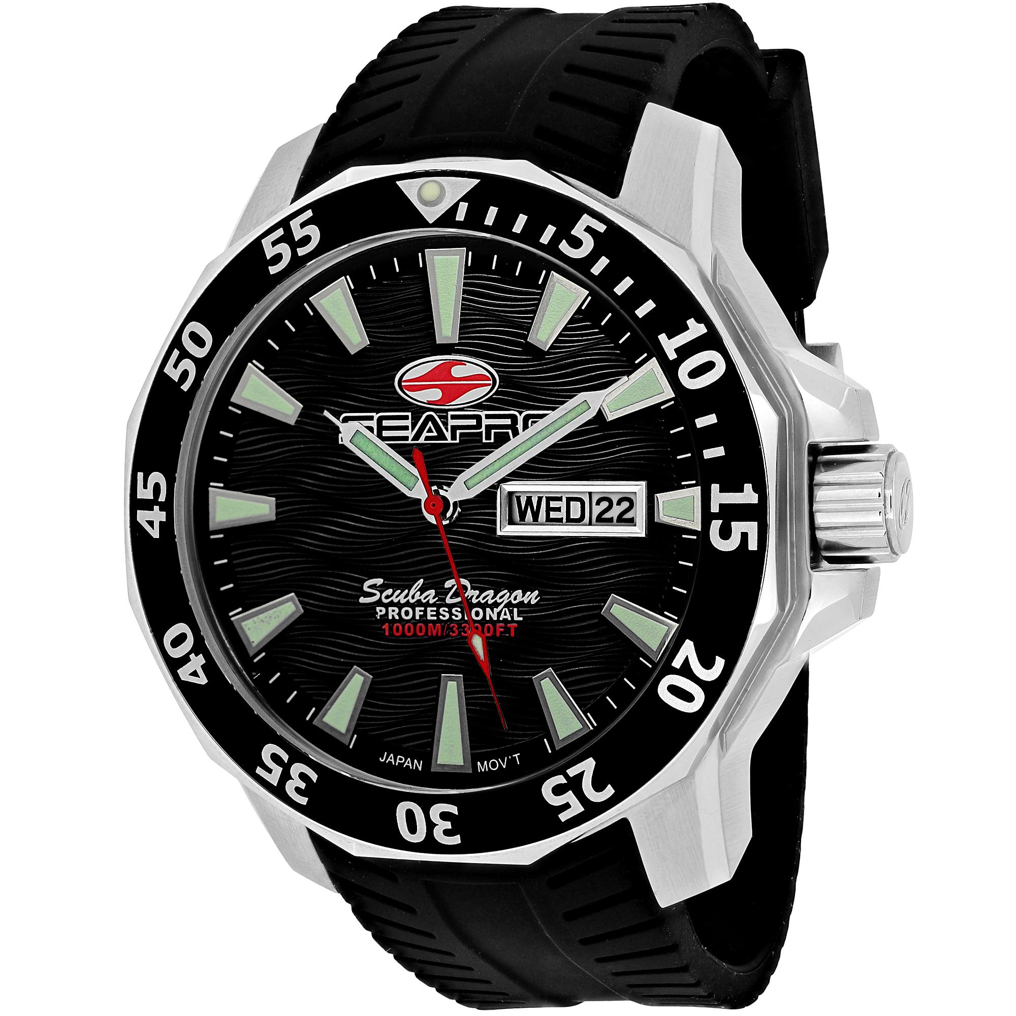 Seapro Scuba Dragon Diver Limite Sp8310 Men's Watch