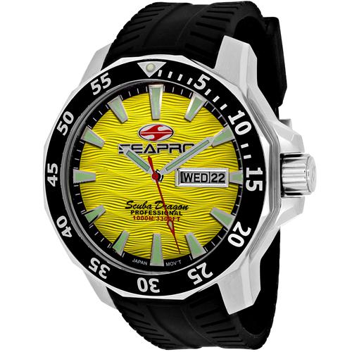 Seapro Scuba Dragon Diver Limite Sp8313 Men's Watch