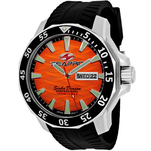 Seapro Scuba Dragon Diver Limite Sp8314 Men's Watch
