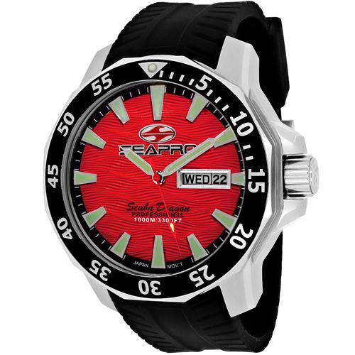Seapro Scuba Dragon Diver Limite Sp8317 Men's Watch