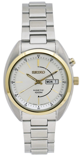 Seiko Kinetic Smy130 Men's Watch