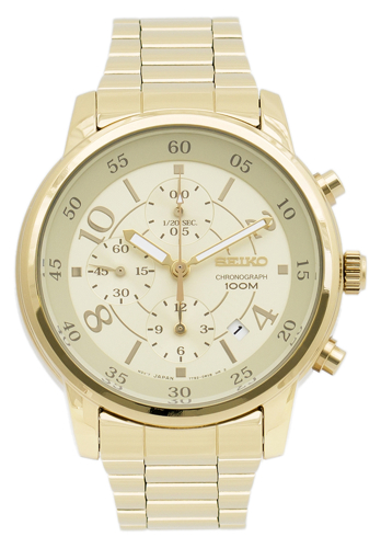 Seiko Chronograph Sndw84 Women's Watch