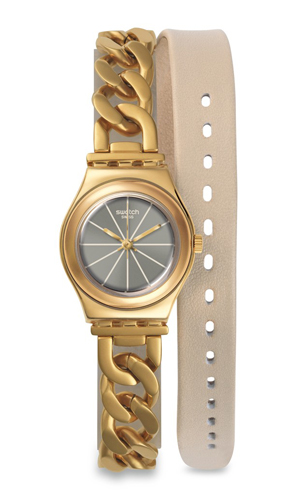 Swatch Irony Grey Women's Watch YSG139
