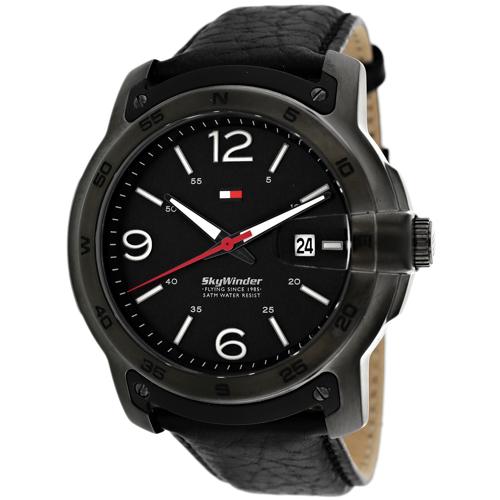 Tommy Hilfiger SkyWinder Black Men's Watch 1790896