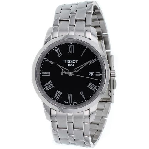 Tissot Men's Classic Watch Quartz Sapphire Crystal ...
