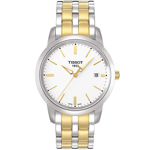 Tissot Classic Dream White Men's Watch T0334102201101