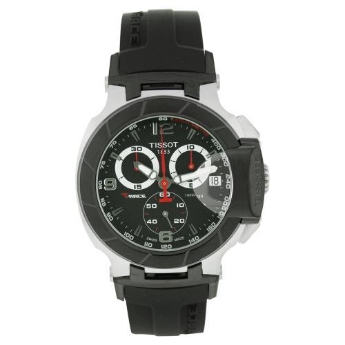 Tissot T-Race Black Men's Watch T0484172705700