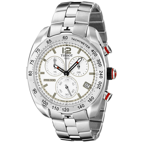 Tissot PRS 330 Silver Men's Watch T0764171103700
