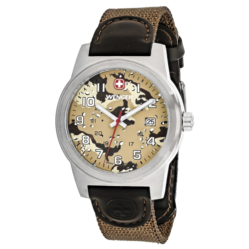 Wenger Field Classic Brown Men's Watch 01.0441.107