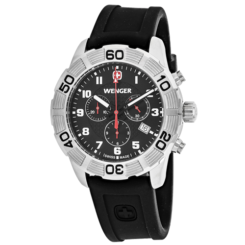 Wenger Roadster Black Men's Watch 01.0853.101