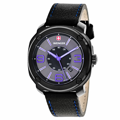 Wenger Escort Black Men's Watch 01.1051.105